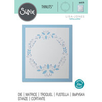 Sizzix - Christmas - Thinlits Die - Cut-Out Wreath