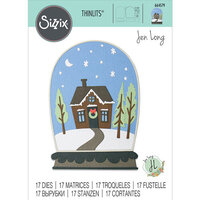 Sizzix - Christmas - Thinlits Die - Bell Jar Diorama