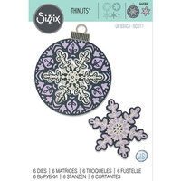 Sizzix - Christmas - Thinlits Die - Layered Snowflake