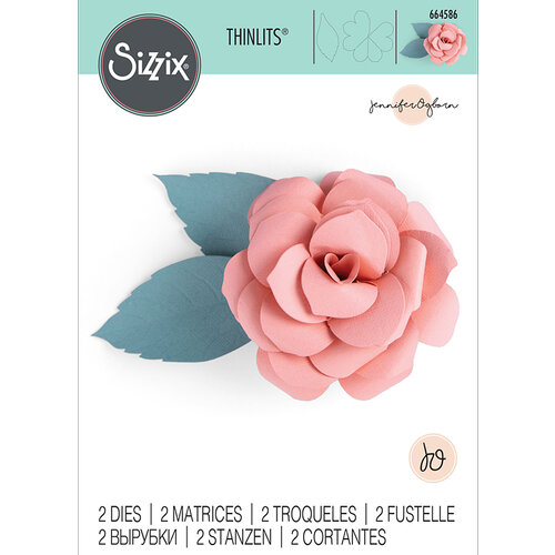 Sizzix - Thinlits Die - Courtyard Bloom