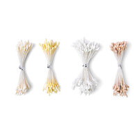 Sizzix - Making Essentials Collection - Flower Stamens - White and Cream - 400 Pack