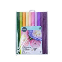 Sizzix - Flower Making Collection - Surfaces - 12 x 24 - Crepe Paper - 10 Pack - Serenity