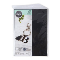 Sizzix - Surfacez Collection - 8.25 x 11.75 Shrink Plastic - Black - 10 Sheets