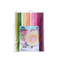 Sizzix - Flower Making Collection - Surfacez - 12 x 24 - Crepe Paper - 10 Pack - Vintage