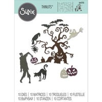 Sizzix - Halloween - Thinlits Dies - Creeps