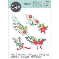 Sizzix - Christmas - Thinlits Dies - Festive Banners