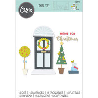 Sizzix - Thinlits Dies - Home For Christmas