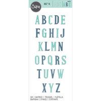 Sizzix - Bigz XL Die - Nostalgic Alphabet