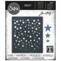Sizzix - Tim Holtz - Thinlits Die - Falling Stars