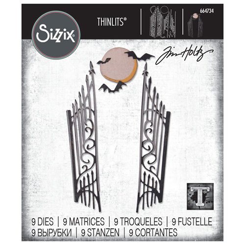 Sizzix - Halloween - Tim Holtz - Thinlits Die - Gate Keeper