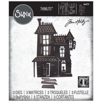 Sizzix - Halloween - Tim Holtz - Thinlits Die - Haunted