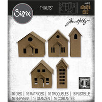 Sizzix - Tim Holtz - Thinlits Dies - Paper Village
