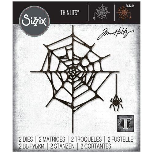 Sizzix - Halloween - Tim Holtz - Thinlits Die - Spider Web