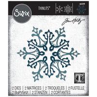 Sizzix - Christmas - Tim Holtz - Thinlits Die - Stunning Snowflake
