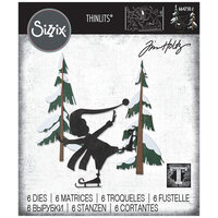 Sizzix - Christmas - Tim Holtz - Thinlits Die - Thin Ice