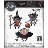 Sizzix - Halloween - Tim Holtz - Thinlits Die - Trick or Treater