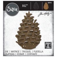 Sizzix - Christmas - Tim Holtz - Bigz Die - Pinecone