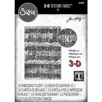 Sizzix - Tim Holtz - 3D Texture Fades - Embossing Folder - Typewriter