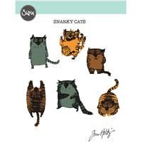 Sizzix - Tim Holtz - Framelits Die - Snarky Cats