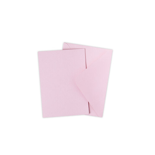 Sizzix - Surfacez Collection - A6 - Card and Envelope Pack - 10 Pack - Ballet Slipper