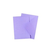 Sizzix - Surfacez Collection - A6 - Card and Envelope Pack - 10 Pack - Lavender Dust
