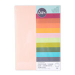 Sizzix - Surfaces - 8.5 x 11 - Cardstock Pack - 60 Pack - Eclectic Colors