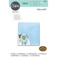 Sizzix - Thinlits Dies - Folio Page Pocket and Flowers