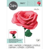 Sizzix - Flower Making Collection - Thinlits Dies - Classic Rose