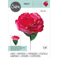Sizzix - Flower Making Collection - Thinlits Dies - Carnation