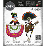 Sizzix - Tim Holtz - Thinlits Dies - Day of the Dead Colorize