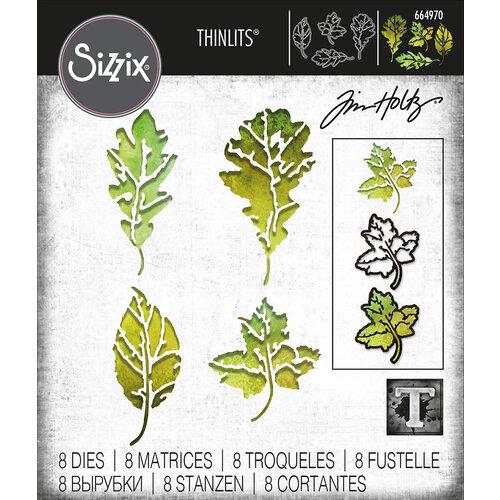Sizzix - Tim Holtz - Thinlits Dies - Leaf Print