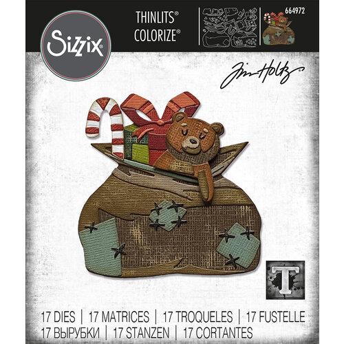 Tim Holtz Toyland Colorize Thinlits Die Set 17PK by Sizzix PRE-ORDER