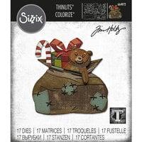 Sizzix - Tim Holtz - Thinlits Dies - Toyland Colorize