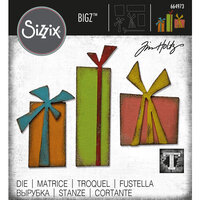 Sizzix - Tim Holtz - Bigz Die - Gift Wrap