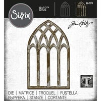 Sizzix - Tim Holtz - Bigz Die - Cathedral Window