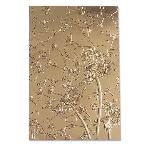 Sizzix - 3D Textured Impressions - Embossing Folders - Dandelion Wish