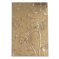 Sizzix - 3D Textured Impressions - Embossing Folders - Dandelion Wish