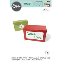 Sizzix - Thinlits Die - Box, Envelope