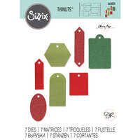 Sizzix - Thinlits Die - Gift Tags