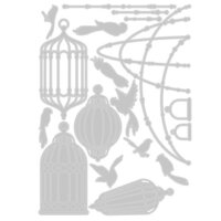 Sizzix - Thinlits Die - Birdcages