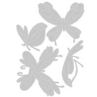Sizzix - Thinlits Die - Flight of Fancy