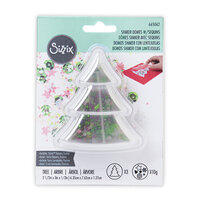 Sizzix - Making Essentials Collection - Shaker Domes - Tree With Sequins