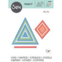 Sizzix - Framelits Die - Geo Stitched Frames