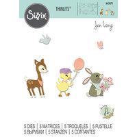 Sizzix - Thinlits Dies - Baby Animals