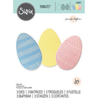 Sizzix - Thinlits Dies - Decorative Eggs