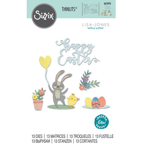 Sizzix - Thinlits Dies - Easter Icons