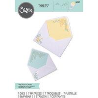 Sizzix - Thinlits Dies - Foliage Envelope Liners