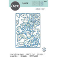 Sizzix - Thinlits Dies - Floral Lattice