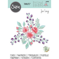 Sizzix - Thinlits Dies - Floral Layers 2