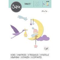 Sizzix - Thinlits Dies - Lunar Baby